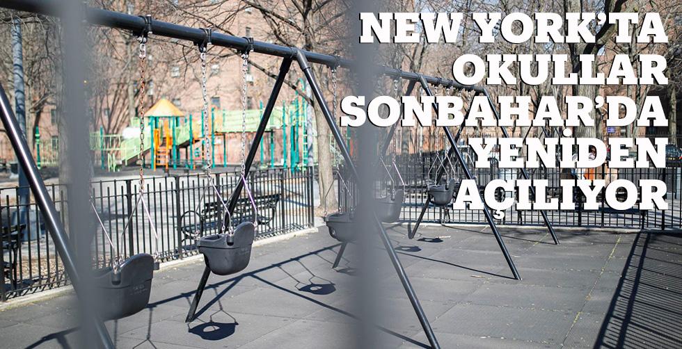 NY'ta okullar sonbaharda yeniden…
