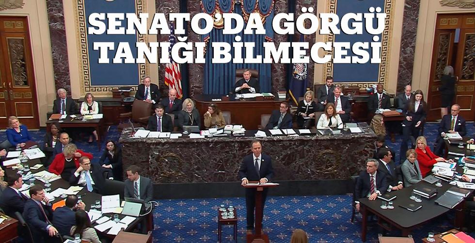 Senato'da görgü tanığı bilmecesi