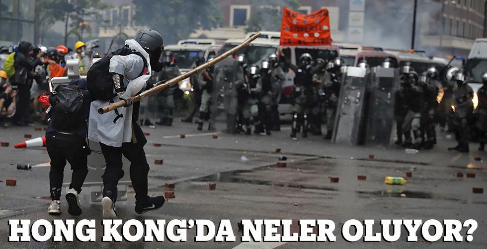Hong Kong'da neler oluyor?..