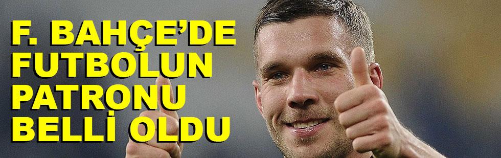 Fenerbahçe'de futbolun başına…