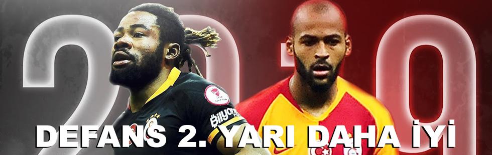 Galatasaray'ın savunması ikinci…