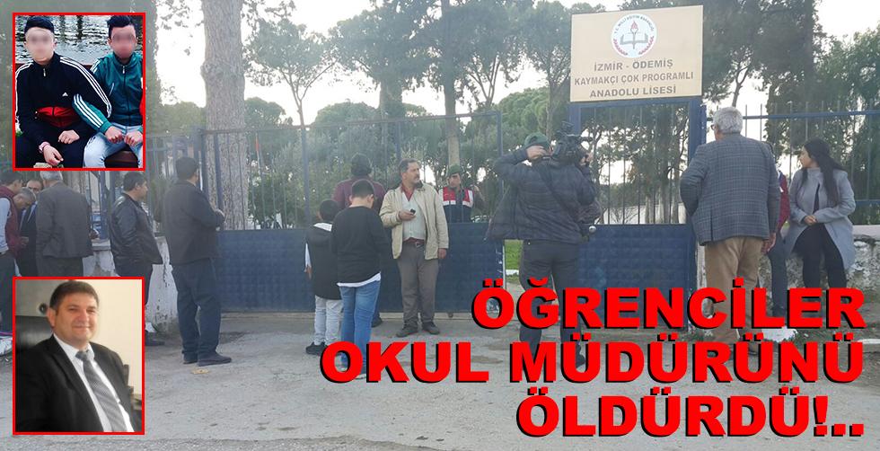 Öğrenciler okul müdürünü öldürdü!..