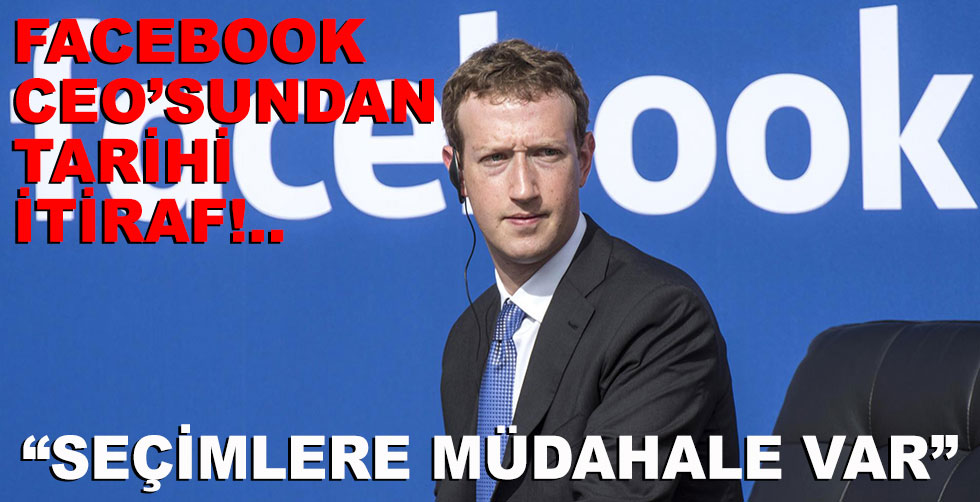 Facebook kurucusundan tarihi itiraf:…