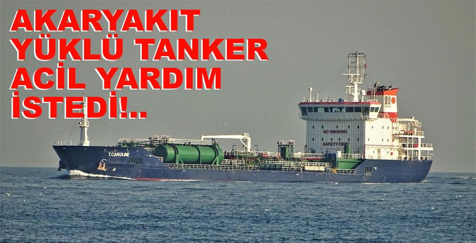 Akaryakıt yüklü tanker acil yardım…