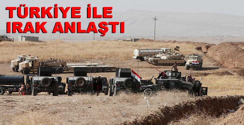 Türkiye ile Irak rasında buzlar eridi