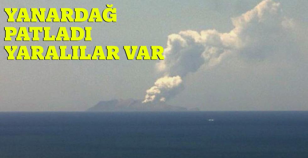 Yeni Zellanda'da yanardağ patladı,…