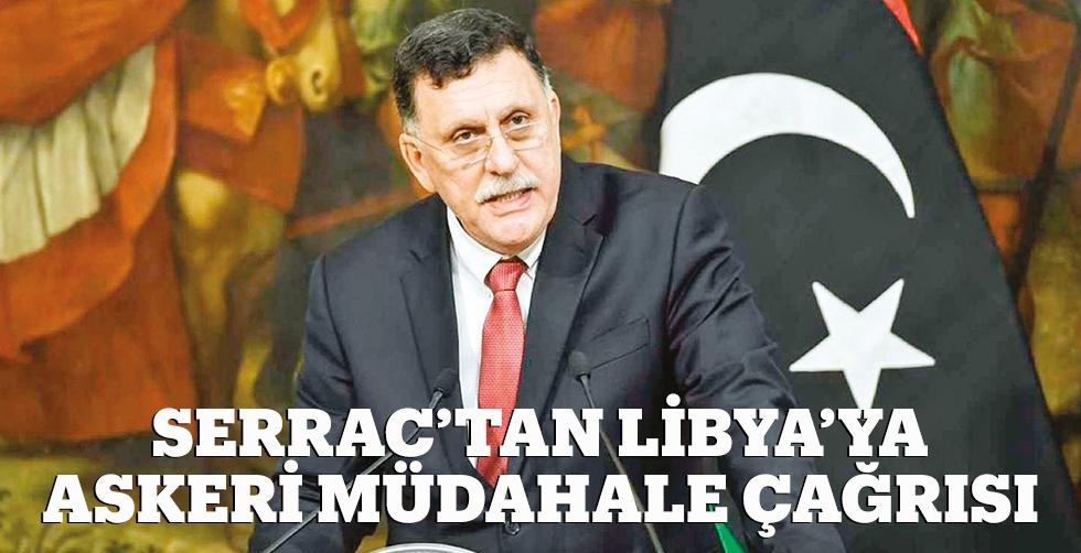 Serrac'tan Libya'ya askeri…