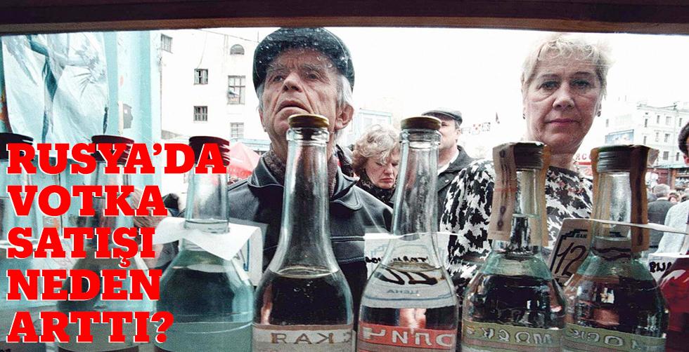 Rusya'da votka satışları neden…