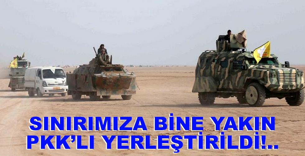 ABD sınırımızda bine yakın PKK'lı…