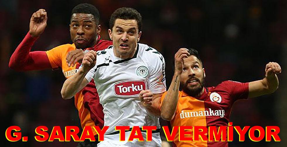 Galatasaray tat vermiyor...