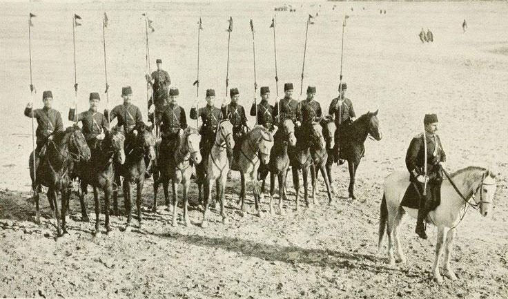 Bağdad'da Türk süvarileri