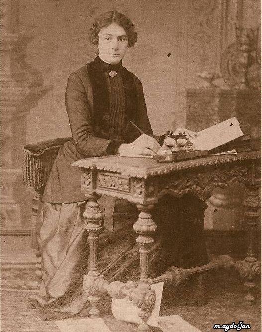 lk Türk kadın gazeteci Selma Rıza Feraceli (1872 - 1931)